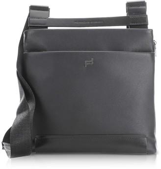 Porsche Design Shyrt 2.0 Black Leather XSVZ Shoulder Bag