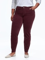 Old Navy Mid-Rise Rockstar Plus-Size Cords