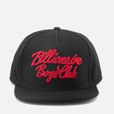 Billionaire Boys Club Men's Script Logo Snapback Cap - Black
