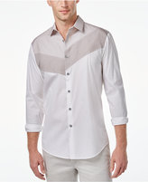 INC International Concepts Men's Apanas Asymmetrical Shirt, Only at Macy's