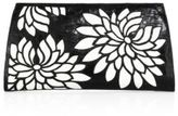 Nancy Gonzalez Floral Crocodile Slicer Clutch