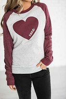 Ampersand Avenue Heart You Pullover