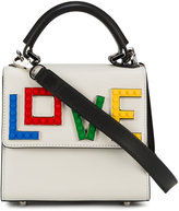 Les Petits Joueurs 'lego love' shoulder bag - women - Leather/Acrylic/Brass - One Size