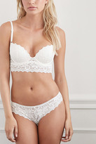Forever 21 Crocheted Lace Cheeky Bikini Panty