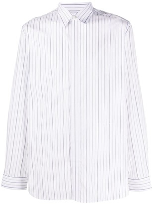 Givenchy Striped Button-Up Shirt