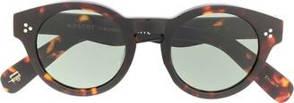 MOSCOT Grunya round sunglasses