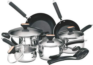 Anolon Paula Deen Signature Stainless Steel 12Pc Cookware Set