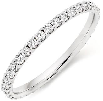 Beaverbrooks Platinum Diamond Full Eternity Ladies Ring