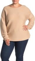 14th & Union Boatneck Ottoman Sweater (Plus Size)