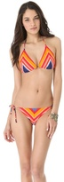 Shoshanna Cape Town Striped Bikini Top