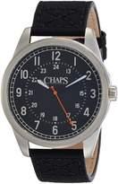 Chaps Men's Bransen CHP5012 Leather Quartz Watch