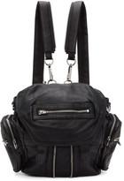 Alexander Wang Black & Silver Mini Marti Backpack