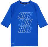 Nike Half Sleeve Logo Rash Guard-Boys 4-7