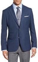 BOSS Men's 'Johnston' Trim Fit Wool Blazer