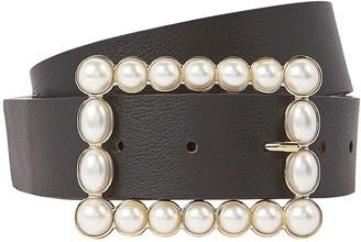 B-Low the Belt Joan Pearl Buckle Waist Belt
