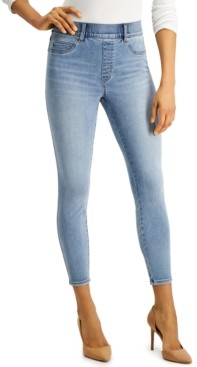 Spanx Distressed Skinny Ankle Jeans