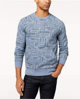 Tommy Hilfiger Men's Russell Logo-Print Raglan-Sleeve Sweatshirt