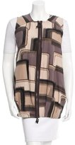 Marni Printed Zipped Vest