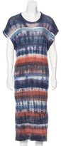 Raquel Allegra Tie-Dye Print Knit Dress