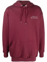 Thumbnail for your product : Throwback. Logo-Print Cotton Hoodie