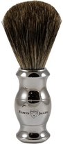 Jagger Pure Badger Nickel Plated Shaving Brush by Edwin