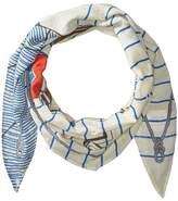 Polo Ralph Lauren Polo Nautique Diamond Shape Scarf Scarves