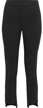 Frame Cropped Cotton-blend Skinny Pants