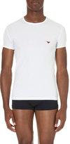 Emporio Armani Logo Cotton-blend T-shirt