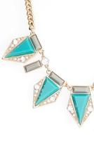 Adia Kibur Women's Triangle Stone Necklace