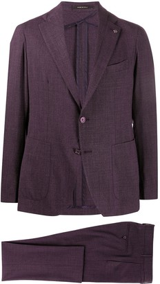 Tagliatore Single-Breasted Two-Piece Suit