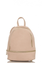 Quiz Pink Zip Front Backpack