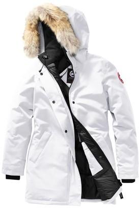 Canada Goose Fur-Trim Victoria Parka