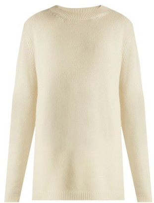 Raey Loose Fit Cashmere Sweater - Womens - Ivory