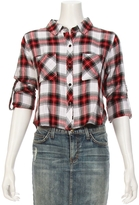 Rails Rian Cropped Plaid Shirt