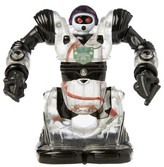 Wow Wee Mini Builder Robosapien with Remote - Clear and Black