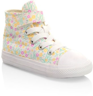 Converse Baby's & Little Girl's Chuck Taylor Printed Hi-Top All-Star Sneakers