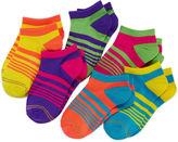 Gold Toe 6-pk. Neon Liner Socks - Girls