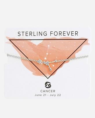 Express Sterling Forever 'When Stars Align' Cancer Constellation Bolo Bracelet
