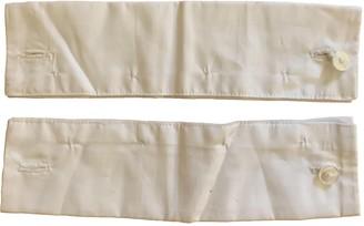 Maison Margiela White Cotton Gloves