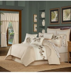 J Queen New York Palm Beach Queen Comforter Set Bedding