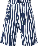 Sunnei multi stripe shorts - men - Cotton - L