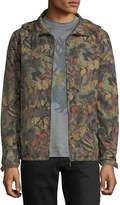 Valentino Butterfly-Camouflage Rain Jacket