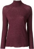 Haider Ackermann slim-fit roll neck sweater