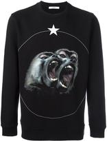 Givenchy Monkey Brothers printed sweatshirt
