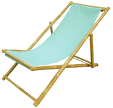 Relaxing Bamboo Lounge Chair