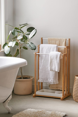 Urban Outfitters 3-Tier Bamboo Towel Rack