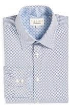Ted Baker Men's 'Hewett' Trim Fit Geometric Dress Shirt