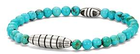 David Yurman Southwest Bead Bracelet with Turquoise
