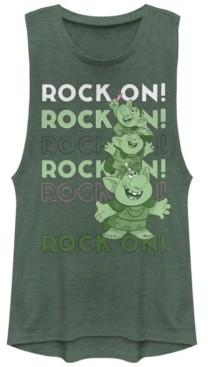 Disney Juniors' Frozen Rock On Festival Muscle Tank Top