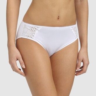 Dim Generous Mod Broderie Anglaise Knickers
